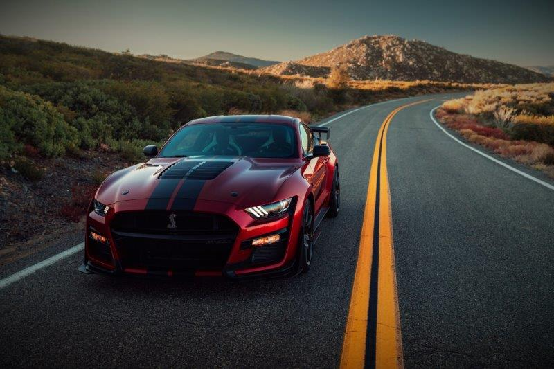 FORD MUSTANG Shelby gt500 v8 5.2l supercharged 760hp