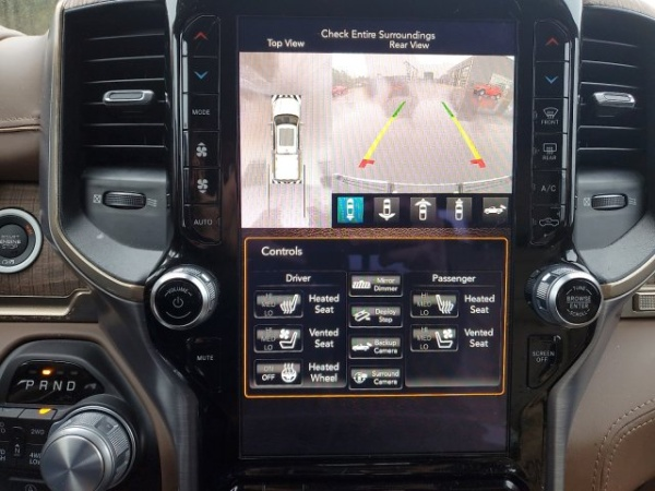 DODGE RAM 1500 longhorn 4x4 crew cab 5.7l hemi 395hp suspensions pack alp
