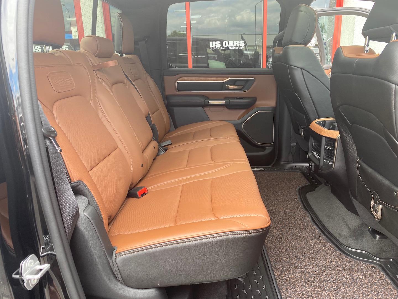 DODGE RAM 1500 longhorn 4x4 crew cab v8 5.7l hemi 395ch hayon multi suspensions ser e torque