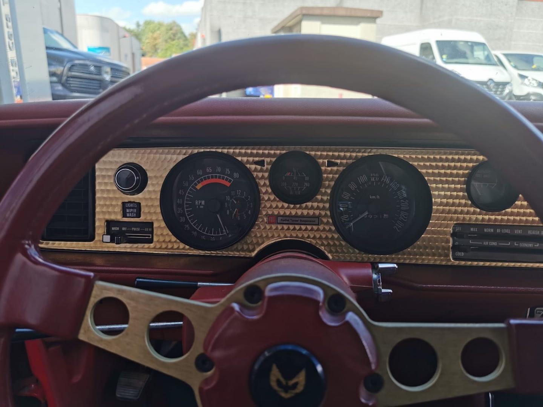 PONTIAC FIREBIRD V8 301 5.0l