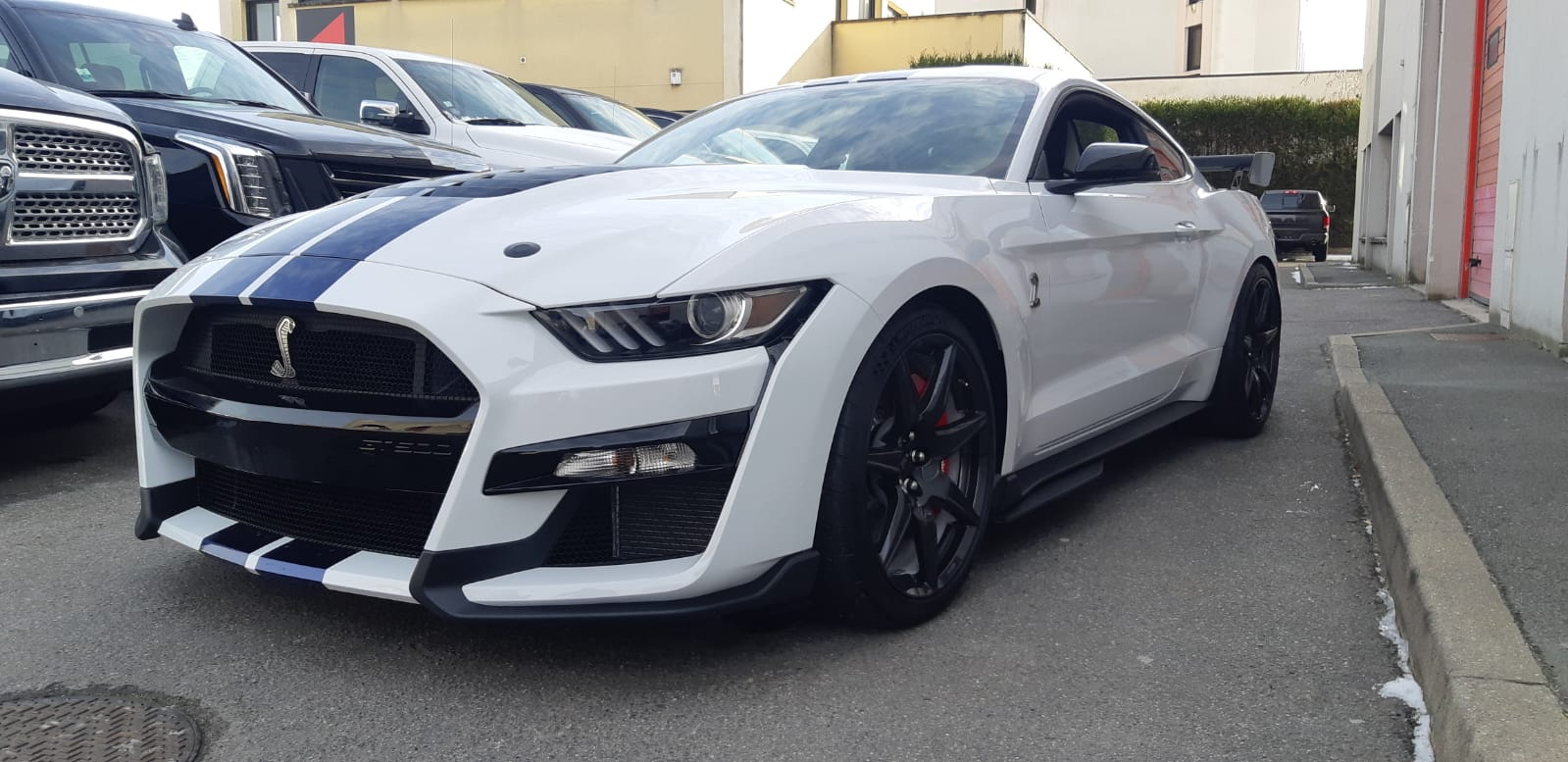 FORD MUSTANG Shelby gt500 pack carbone recaro techno v8 5.2l supercharged 760hp